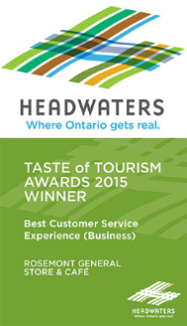 Taste of Tourism Awards 2015 Winner
